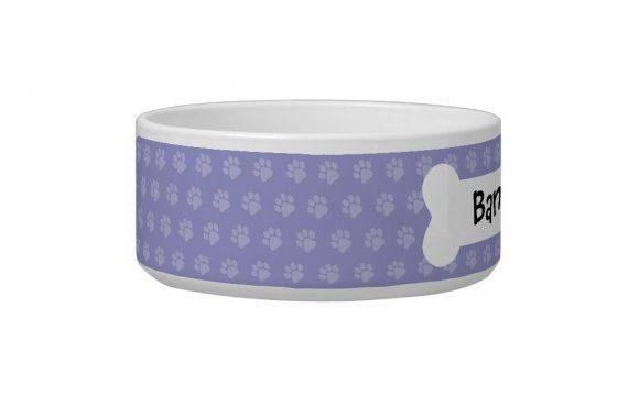 Cartoon Shar Pei Dog Food Bowl
