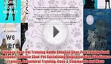 Download Chinese Shar-Pei Training Guide Chinese Shar-Pei